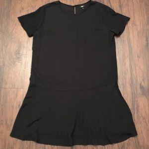 Mossimo Black Women's Shift Mini Dress XL